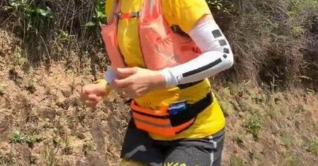 best running water bottle belt
